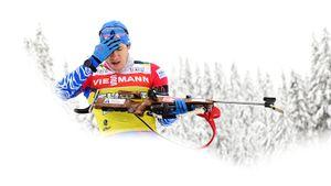 Один выстрел лишил русского биатлониста медали чемпионата мира. Большую часть дистанции Латыпов лидировал