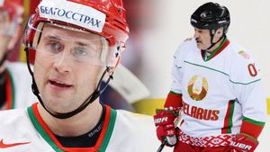В Белоруссии коронавирусом массово заражаются хоккеисты. Заболел даже игрок команды Лукашенко