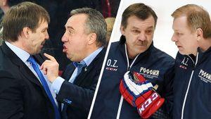 Ротенберг — не первый менеджер, встававший на тренерскую лавку. Жамнов и Сафронов помогали самому Знарку