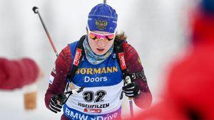 Русская биатлонистка провела первую гонку зановую страну. Как дела уОльги Подчуфаровой