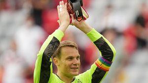 УЕФА назвал благим делом радужную капитанскую повязку Нойера на матчах Евро-2020. Расследование прекращено