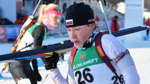 Ушкина выиграла гонку преследования на чемпионате России по биатлону, Куклина — 2-я, Кайшева — 3-я