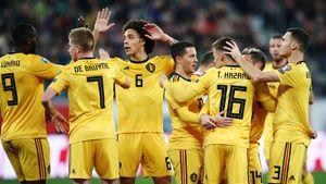 Бельгийцы опубликовали заявку на Евро-2020. В нее вошли Витсель и братья Азары