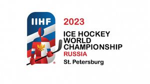 Представлен официальный логотип чемпионата мира по хоккею— 2023 в Санкт-Петербурге