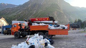 Биатлонистка Куклина пожаловалась на свалки мусора вблизи Эльбруса: «Сердце обливается кровью»