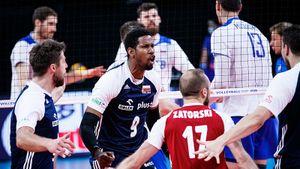 Российские волейболисты проиграли Польше в 6-м туре Лиги наций