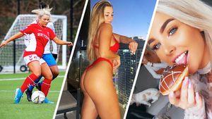 Как живет скандальная английская футболистка Райт. Алкоголь за рулем, веселящий газ и продажа интимных снимков