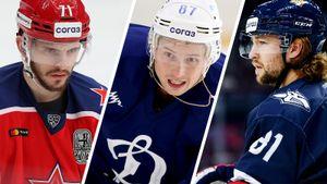 Американо-канадская угроза для Шипачева. 5 претендентов на звание лучшего бомбардира КХЛ