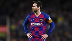 Месси после ухода Роналду несделал ниодного результативного действия вматчах с«Реалом»