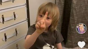 «Только за деньги!» Рудковская и 7-летний сын Плющенко придумали сюжет для «Ералаша» и сняли его на видео