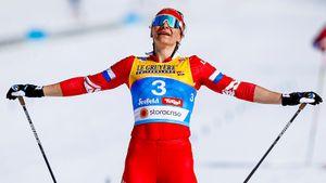 Лыжница Непряева обыгрывает всех подряд вмежсезонье. Большунов много проиграл Нисканену