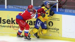 Россия в серии буллитов победила Швецию в матче Евротура