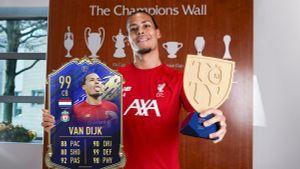 Ван Дейк стал первым защитником срейтингом 99 завсю историю игры FIFA