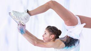 Ангел Косторная лучшая в Граце, Бойкова/Козловский почти побили рекорд мира. Топ-фото 3-го дня ЧЕ
