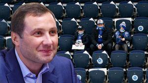 «Массовую вакцинацию не планируем. Самый тяжелый этап мы прошли». Президент КХЛ Морозов — о первой половине сезона