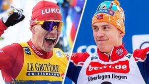 Большунов — 4-й в первой гонке лыжного сезона. Клэбо сенсационно проиграл в спринте — впервые за 2 года
