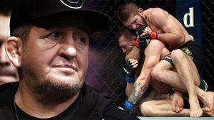 «Ждем Конора на бой в Москве». Отец Хабиба про охранников сына, наследника в UFC и конец карьеры