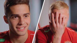 «Бумер? Это бэха». Футболисты сборной России отгадывают молодежный сленг. Видео