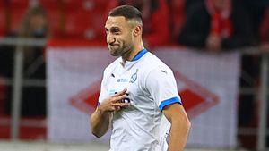 Бело-голубые вышли вперед после точного удара Ордеца. «Спартак»— «Динамо» 0:1. LIVE!