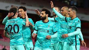 Дубль Жоты помог «Ливерпулю» разгромить «Арсенал»