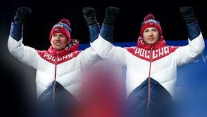 Русские лыжники выиграли 1-ю спринт-эстафету сезона: Большунов убежал от фаворитов из Италии, Ретивых выиграл финиш