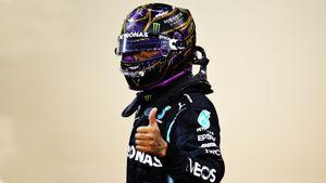 Хэмилтон выиграл Гран-при Бахрейна, на 0,745 секунды опередив Ферстаппена. Мазепин сошел с трассы на 1-м круге