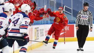 «Не понял, что кричал американец, у меня не очень с английским». Хоккеисты сборной России — о победе над США на МЧМ
