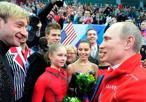 Путин: «Какое отношение наши фигуристки имеют кдопингу? Даникакого!»