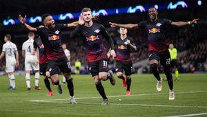 «РБЛейпциг» победил «Тоттенхэм» впервой игре 1/8 финала Лиги чемпионов