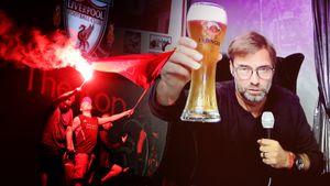 Сорванное интервью, пиво для Клоппа и пропавший Невилл. Как футболисты «Ливерпуля» праздновали чемпионство