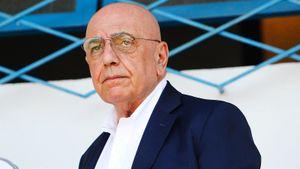 Бывший генеральный директор «Милана» Галлиани заболел коронавирусом