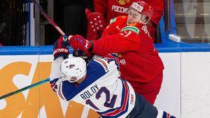 Россия — единственная сборная, обыгравшая США на МЧМ-2021. Американцы выиграли молодежный чемпионат мира