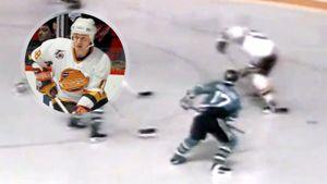 Гол советского хоккеиста с разворотом на 180 градусов. 29 лет назад Ларионов исполнил крутой финт в НХЛ: видео