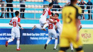 Первый гол квалификации ЧМ-2022 уже забит. Красивым ударом соштрафного вМонголии