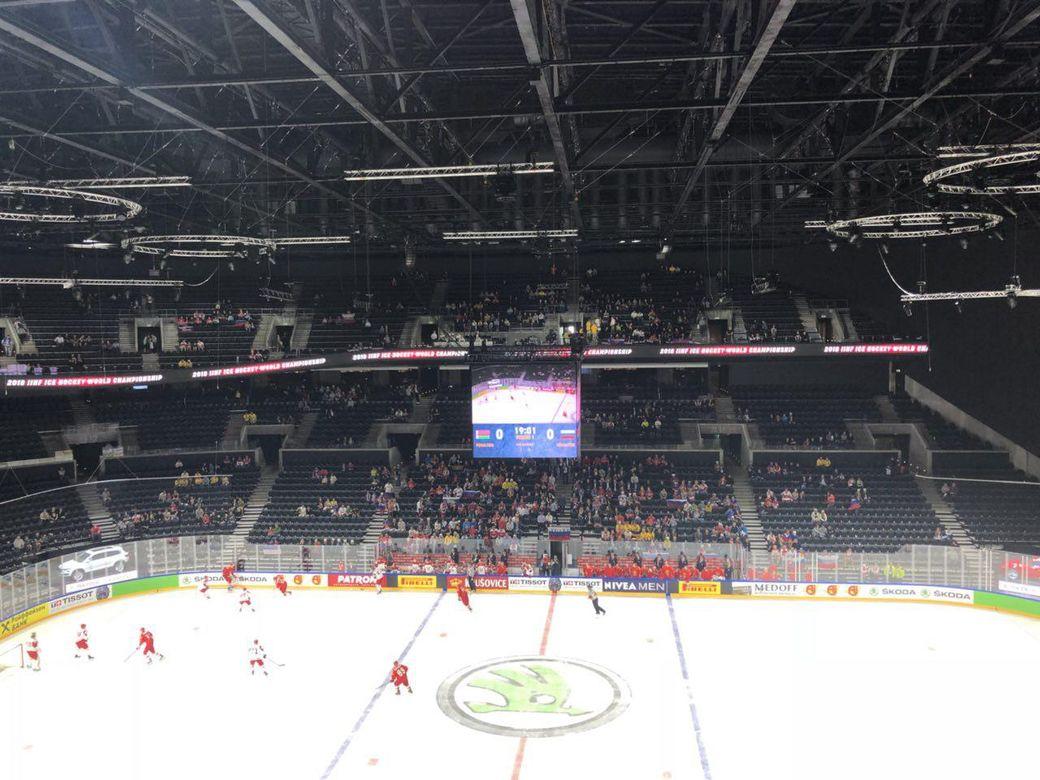 Русские хоккеисты встретятся сосборной Беларуссии