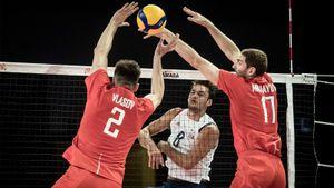 Россияне обыграли американцев и вышли на второе место в волейбольной Лиге наций