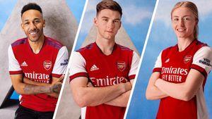 Лондонский «Арсенал» представил новую домашнюю форму