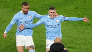 «Манчестер Сити» впервые вышел в полуфинал ЛЧ при Гвардиоле. Впереди — «Пари Сен-Жермен»