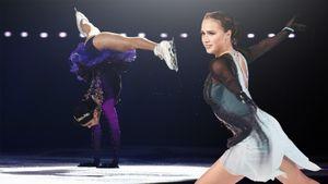 Медведева показала акробатику на льду, фанаты Загитовой зажигали сердца на трибунах. Главные фото шоу в Москве
