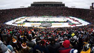 76 тысяч зрителей, 80-летний рекорд и празднование в стиле Леброна. В США сыграли «Зимнюю классику»