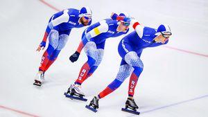 Россия установила рекорд наЧМпоконькобежному спорту. Почему довольных внашей сборной единицы?