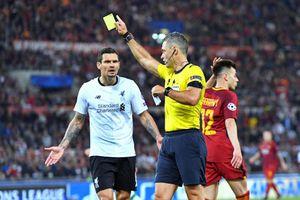Судья Скомина признал свои ошибки в матче «Рома» - «Ливерпуль»