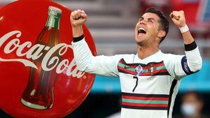 Роналду жжет на Евро-2020! Обвалил акции «Кока-Колы» и стал лучшим бомбардиром в истории ЧЕ— всего за 2 дня