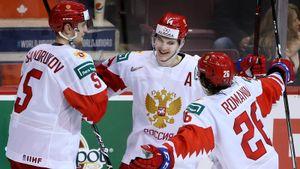 Россия— Словакия— 8:3. Сборная Брагина разбила словаков ивышла в1/2 наСША. Как это было