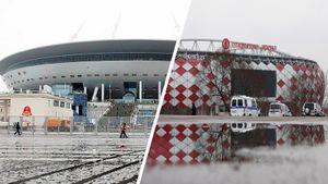 Где сыграют «Зенит» и«Спартак»? Питерцы готовят «Газпром-Арену», Федун хочет жеребьевку