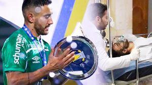Разбившийся в 2016 «Шапекоэнсе» вернулся в высшую лигу Бразилии. Первым трофей поднял защитник, переживший крушение