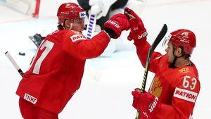 Сборная России пешком вынесла Австрию. Счехами ветеранский хоккей непрокатит