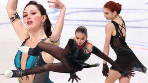 Гениальная Трусова с пятью квадами на фоне падений Валиевой и Туктамышевой. Почему русские фигуристки разочаровали