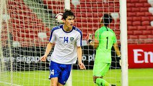 Шомуродов в топ-форме: забил 2 Сингапуру, в 6 последних матчах за сборную и «Ростов» у него 6 голов