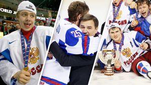 Эмоциональная реакция русских хоккеистов, выигравших золото МЧМ: что происходило в финале Баффало-2011 после сирены